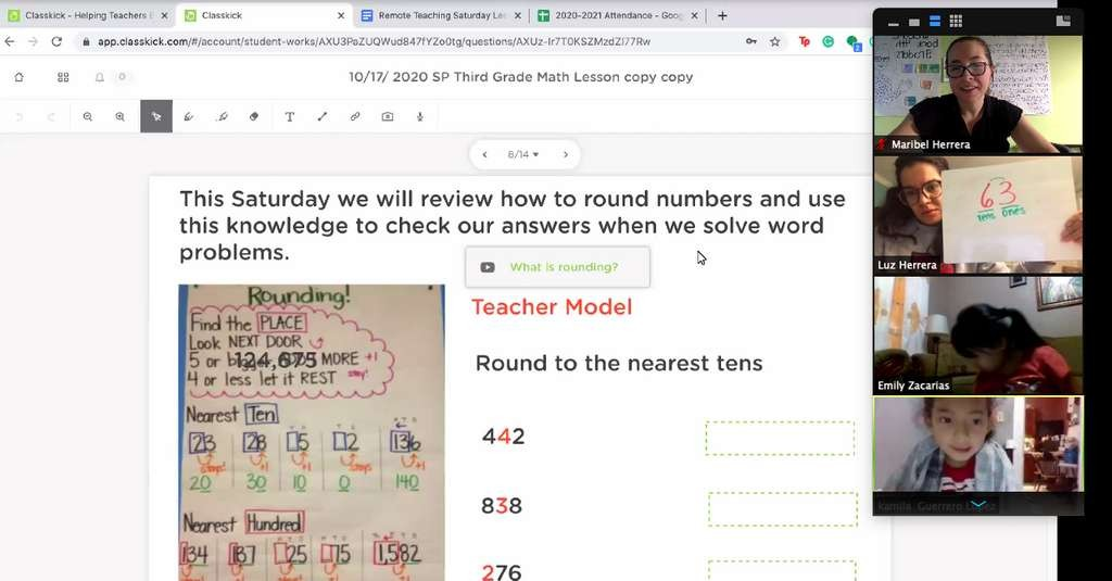 Math Lesson Picture with Classkick - 2